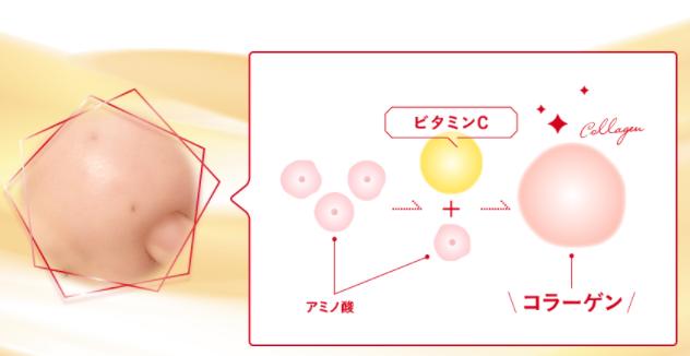 ビタブリットCフェイスのコラーゲン生成の画像