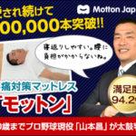 モットンの口コミ・効果【産後の腰痛に人気!】腰痛対策マットレス